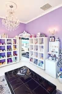 Purple and White Nail Salons