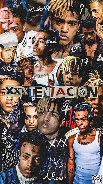 Xxxtentacion Wallpapers Collage Fire