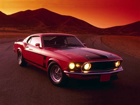 Classic Ford Mustang Wallpaper