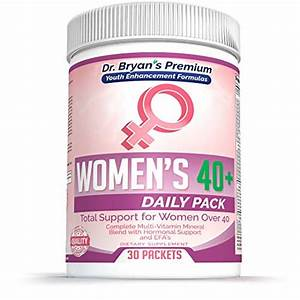Women U2019s Over 40 Daily Pack Vitamins Minerals  42 Fruits And Vegetables  Digestive Enzymes