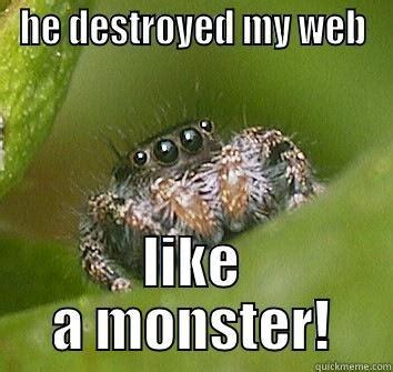 Sad Spider Meme - sad spider quickmeme