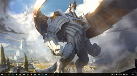 Legend Of Animated Wallpaper - galio league of legends animated wallpaper engine hindgrapha