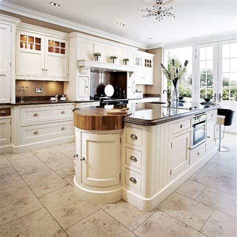 Classic Cream Kitchen  Traditional Kitchen Design Ideas