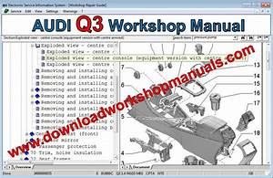 Audi Q3 Workshop Repair Manual