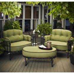 Patio Chair And Ottoman Set Picture