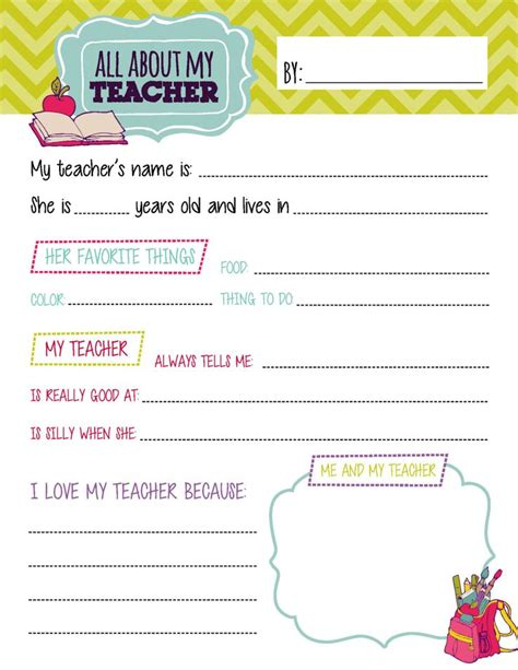 all about my questionnaire printables by 498 | 253294e45795656bb1518d61b13bbecf teacher questionnaire all about my teacher questionaire