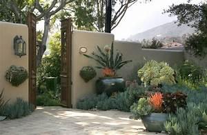 Grace Design Associates - Eclectic - Landscape - santa