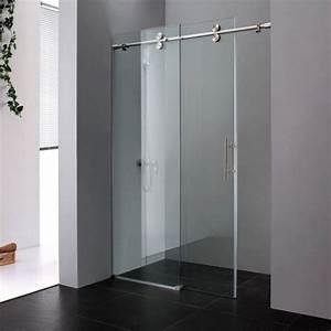 25 idees douche a l39italienne pour une salle de bain moderne With porte de douche coulissante avec showroom salle de bain carrelage