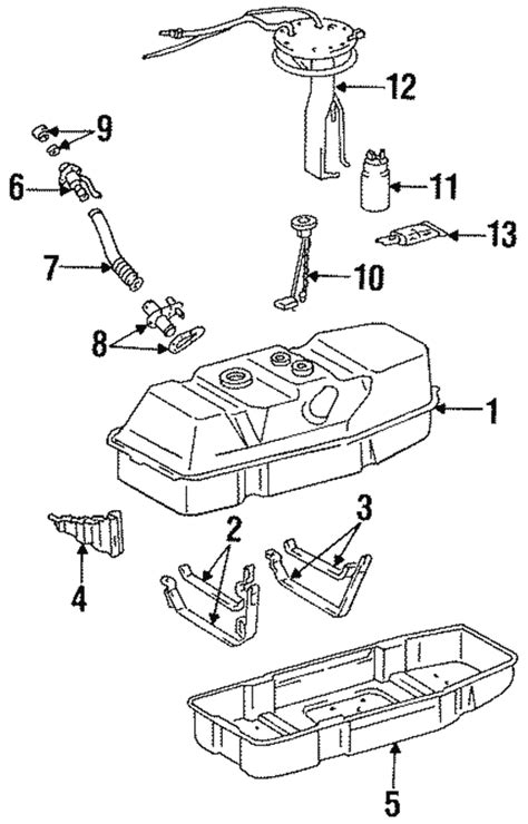 Fue Wiring Diagram 1997 Toyotum Camry by Fuel Assembly Bracket Toyota 23206 65020 Toyota