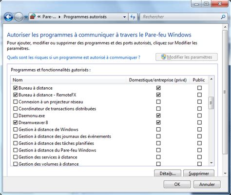 connection bureau à distance windows 7 quelques liens utiles