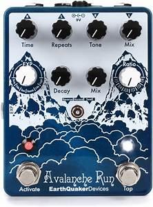 EarthQuaker Devices Avalanche Run Delay/Reverb Pedal Demo ...