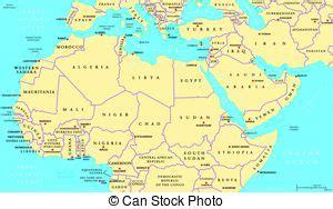 Carte Nord Ouest Détaillée by Afrique Nord Pays Politique Carte Carte Nord