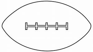 American Football Black And White Clipart - Clipart Suggest