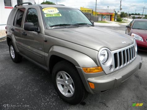jeep metallic 2007 light khaki metallic jeep liberty sport 32391878