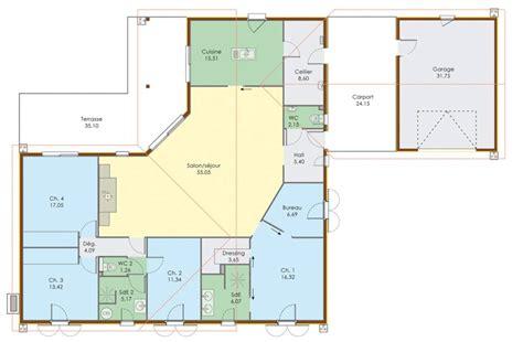 plan de maison 4 chambres avec 騁age en pause sims 3 passer d 39 un plan à une maison sims