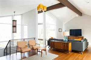 Mid century built in cabinetry living room midcentury with