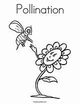 Pollination Noodle Twisty Pintarcolorir sketch template