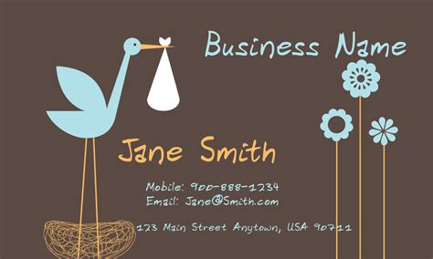 Child Care Business Cards Business Card Information Form Create Using Indesign How To Make In Word 2013 Die Cut Illustrator Template With Crop Marks Protocol Japan Do Photoshop Cs6 Mockup Free Download