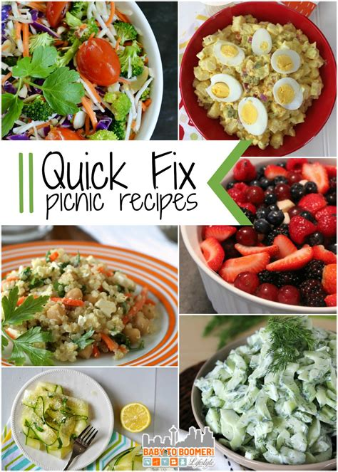 picnic side dishes picnic recipes 11 quick fix side dishes to make