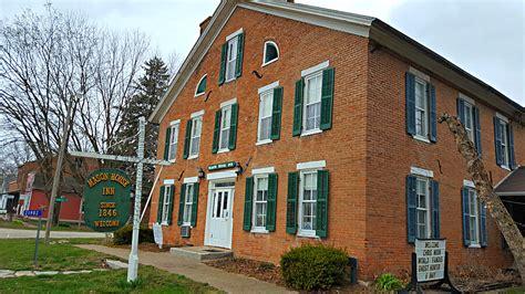 Iowa House Hotel - lodging caboose cottage inn house iowa