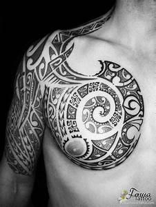 Tatouage Tribal Maorie : sp cialiste du tatouage polyn sien maori et tribal ~ Melissatoandfro.com Idées de Décoration