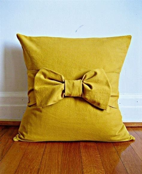 mustard throw pillow 11 best images about embellished pillows on