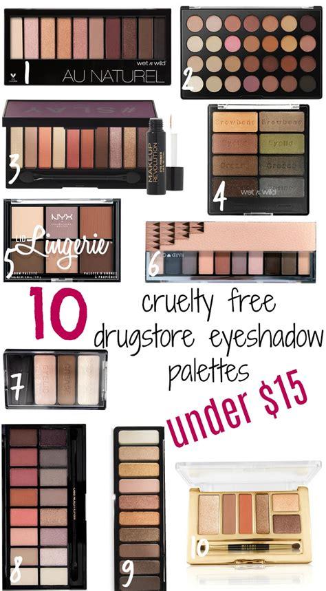 cruelty drugstore eyeshadow palettes