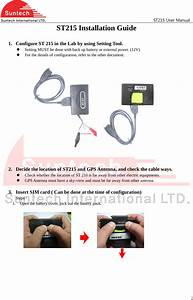 Suntech St215 Quad Band Gsm And Gprs Vehicle Tracker User