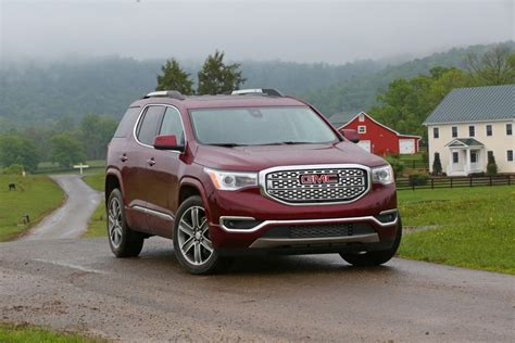 gmc acadia 2020 dimensions 2020 gmc acadia denali specs release date review
