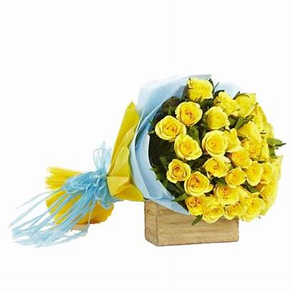 Bouquet Yellow Roses Dozen