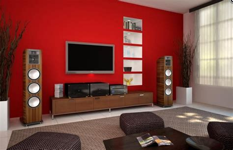 red living room paint color with tv nice room with