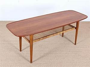 mid century modern scandinavian coffee table in teak and With modern scandinavian coffee tables