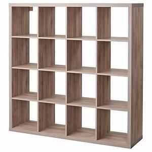 kallax, shelf, unit, -, walnut, effect, light, gray, , shop, ikea, ca