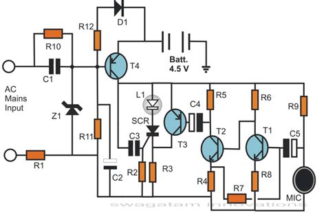 simple hobby electronic circuits circuit