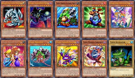 Yugioh! Pegasus' Toon Monsters By Crazyvalkyrie On
