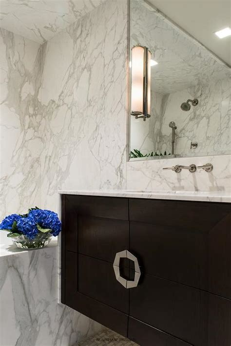 Calacatta Marble Backsplash Design Ideas