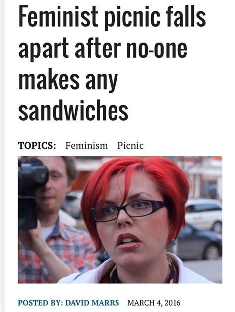 Feminist Meme - feminist picnic meme guy