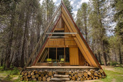 Yosemite Aframe Cabin Hiconsumption
