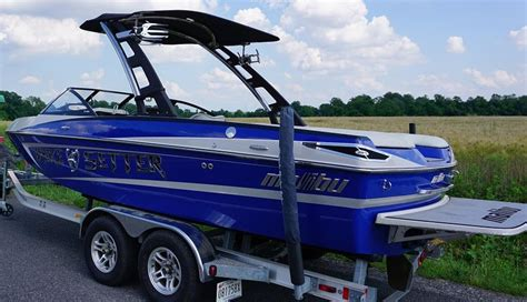 Boat Trailers For Sale In Maryland by Excellent Condition 2011 Malibu Wakesetter Vlx With