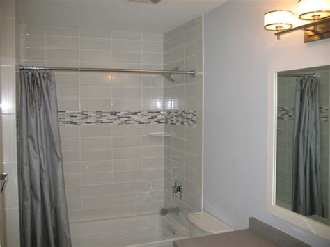 Modern Bathroom With White Tile-contemporary-bathroom