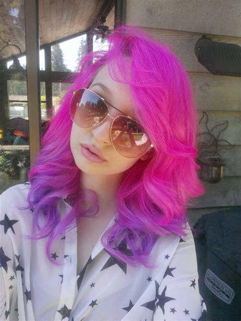 Best 25 Pink Purple Hair Ideas On Pinterest Pastel