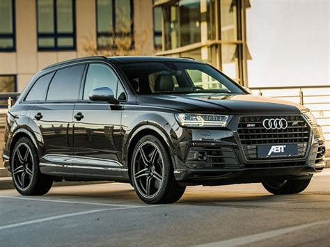 Coolest Suv by Audi Sq7 Transformed Into The Coolest Suv In The World