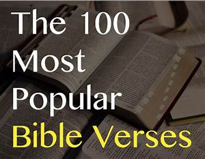 most popular bible quotes