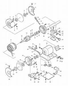Makita 9300 Parts List