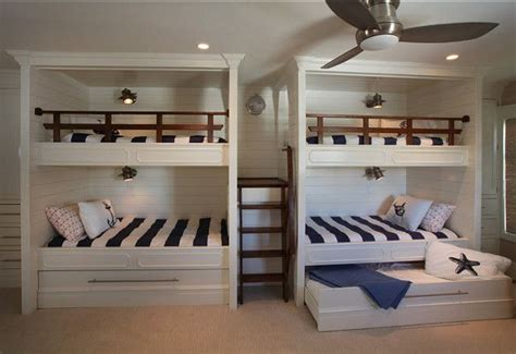 bunk room bunk room design coastal bunk room bunkroom bunkroomdesign asher associates