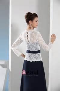 robe de mariã e avec manche dentelle dentelle élégante manches longues col v robe de soirée avec ceinture 1505124645 veaul
