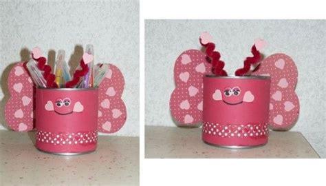 papillon bricolage avec bo 238 te de conserve crayons papillons and pots