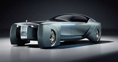 Rolls Royce Car : Rolls-royce Ditches The Chauffeur In This Futuristic