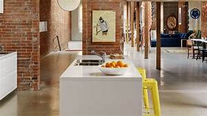 Les Plus Belles Cuisines : pinterest am nagement cuisine ouverte lot central ~ Voncanada.com Idées de Décoration