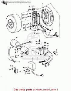 Kawasaki Ke175  Mph Kph Ignition